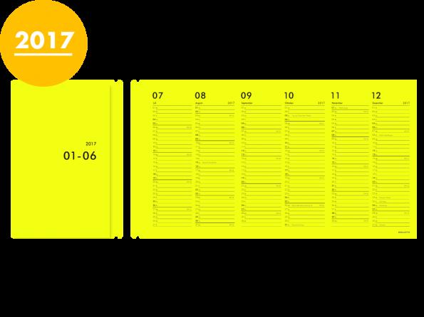 Moduletto Libretto (DIN A5) Faltcalendario 2017 Einlage