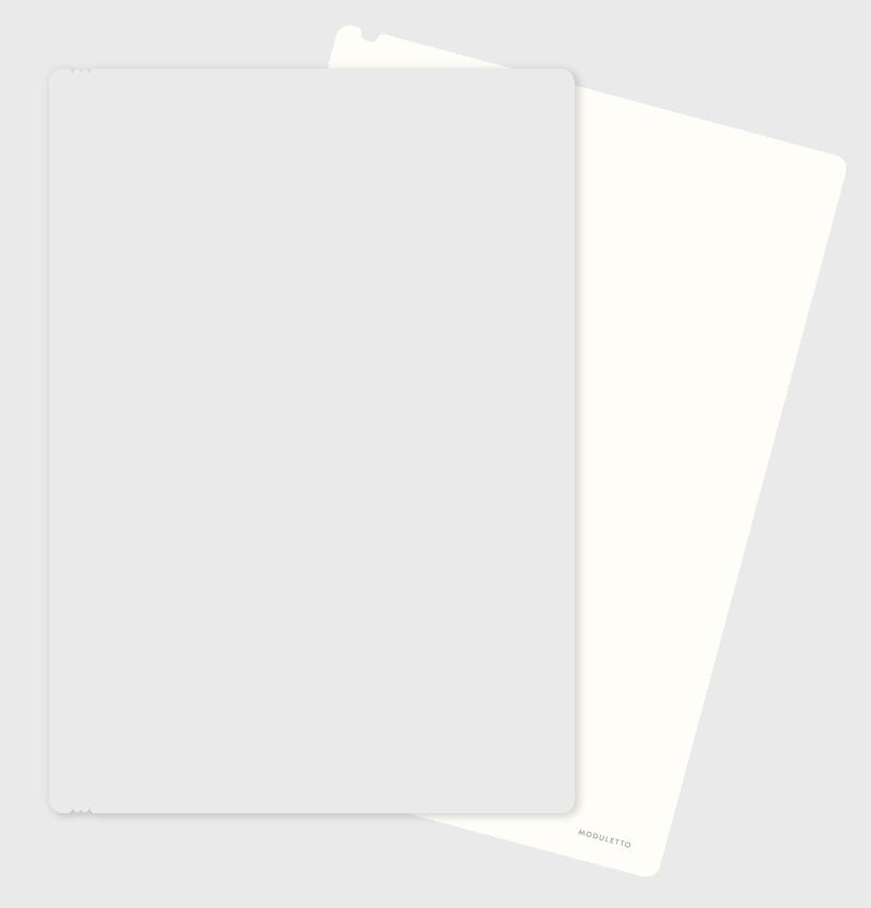 Elfenbein-Weiss Blanko